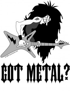 Hair metal guitar