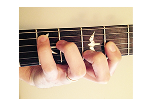 Guitar CAGED chord C form