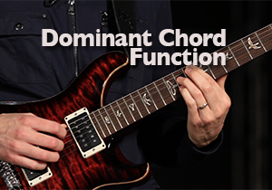 dominant chord function guitar lesson