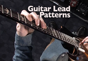 guitar pentatonic lead patterns
