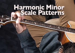 harmonic minor scale patterns for guitar