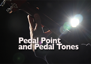 pedal point and pedal tones for guitar