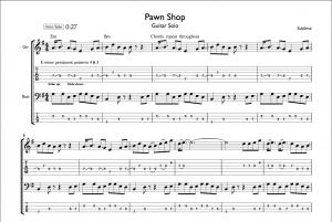 """Pawn Shop"" Sublime Guitar Tab"