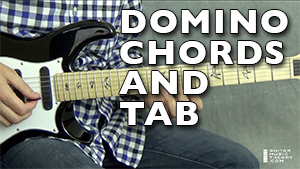 domino chords and tab