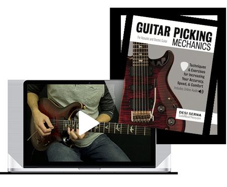 Guitar Picking Mechanics by Desi Serna