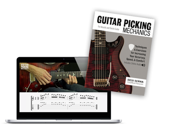 guitar picking techniques book and video