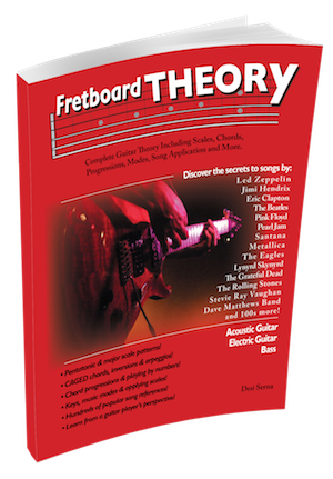 Fretboard Theory guitar theory book
