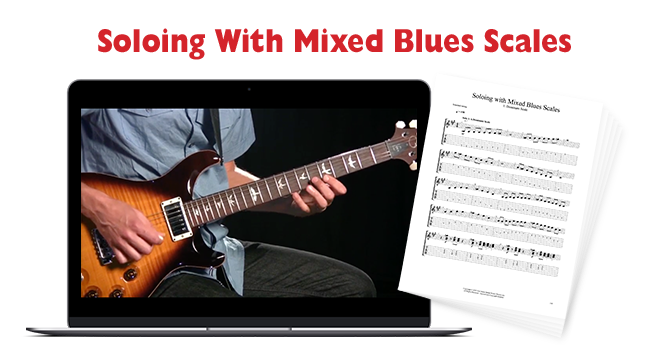 Soloing With Mixed Blues Scales | Fretboard Theory Ch. 5