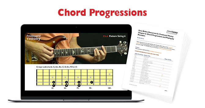 Guitar Chord Progressions and Playing by Numbers