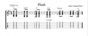 plush tab verse chords