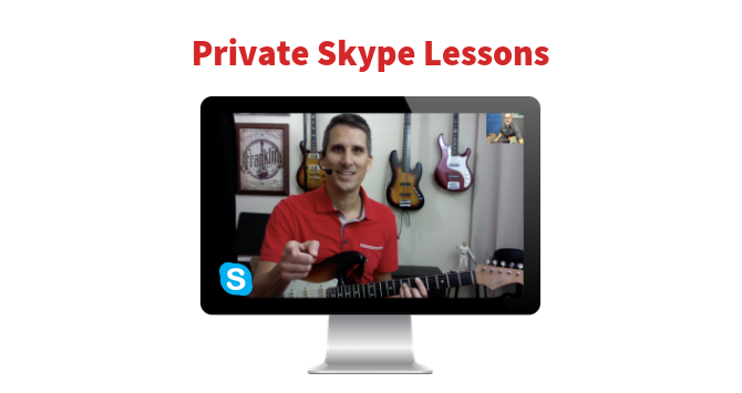 Private Skype Guitar Lessons