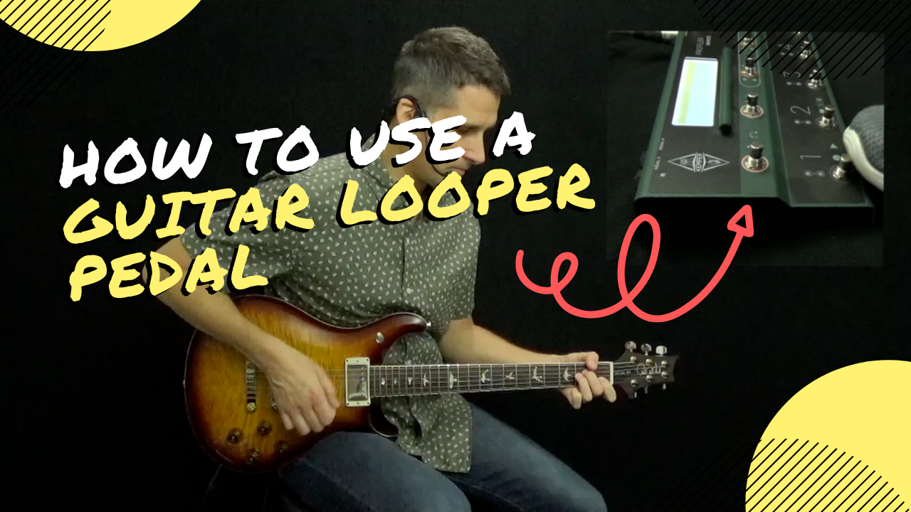 How to Use a Guitar Looper Pedal YouTube thumbnail